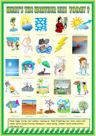 54 free esl weather worksheets for beginner pre a1 level high
