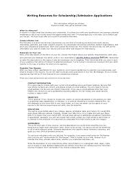 How To Make A Resume For A Summer Job by Academic Resume