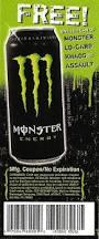 monster energy drink clipart 33