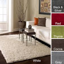 decoration decorating white nuloom alexa my soft and plush shag