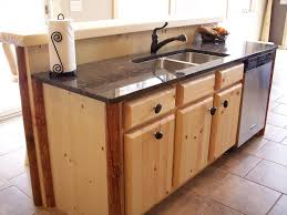 Northwoods Pine Log Kitchen And Bathroom Cabinets  Log Homes And - Rustic pine kitchen cabinets