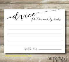 wedding advice cards amazing wedding advice cards template free template 2018free