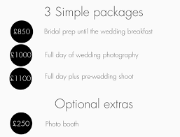 wedding photographers prices wedding photography prices hamish robb photography