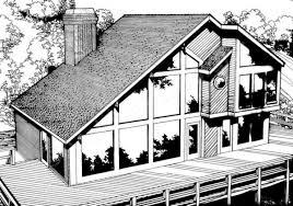 cedar lake retirement house plan simple rustic homes
