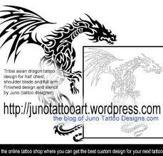 dragon tattoos custom tattoos made to order by juno