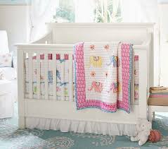 Bright Crib Bedding Vienna Elephant Nursery Bedding Set Pottery Barn
