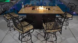 Patio Bar Height Dining Table Set Top 10 Outdoor Hi Top Sets