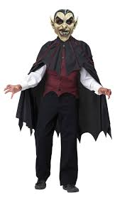 dracula halloween costume kids vampire mask boys fancy dress halloween dracula horror kids