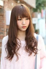 nice koran hairstyles cute korean hairstyle for long hair hairstyles weekly