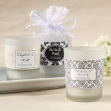 personalized candle favors personalized frosted glass votive wedding candle favors glass