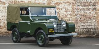 vintage range rover for sale land rover will sell you a meticulously restored series 1 defender