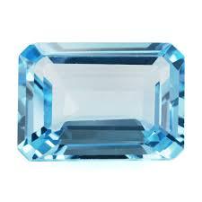 buy online semiprecious precious gemstones beads jewellery sky picture of sky blue topaz cut octagon 18x13mm 17 53 cts