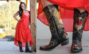 what to wear with cowboy boots dresses for cowgirl boots