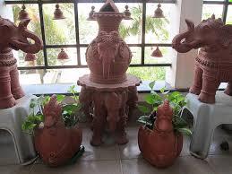 design of terracotta garden decor cherish live garden tour