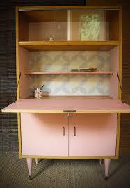 mobilier vintage scandinave meuble secrétaire vintage rénové et relooké octave meubles et