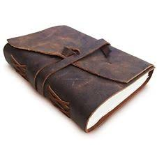 leather bound scrapbook antique writing leather bound journal scrapbook penholder diary