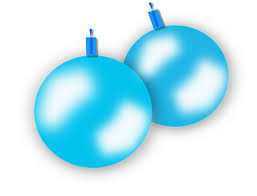 free vector graphic blue ornaments balls free