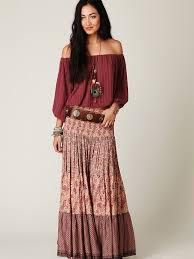 bohemian fashion chic ideas of bohemian skirt fashion styling designers