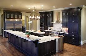 Best Kitchen Countertop Material by Fabulous Decorating Ideas Using Rectangular Brown Wooden Cabinets