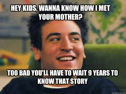 How I Met Your Mother Memes - ted mosby how i met your mother memes quickmeme