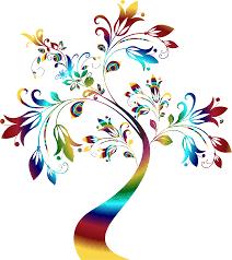 rainbow trees cliparts free download clip art free clip art