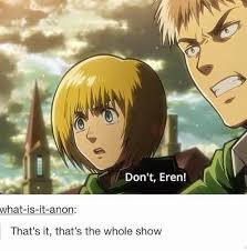 Attack On Titan Memes - 159 best attack on titan images on pinterest essen funny stuff