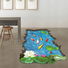 Home Decoration Wall Stickers by Fheaven 3d Stream Floor Wall Sticker Removable Mural Decals Vinyl