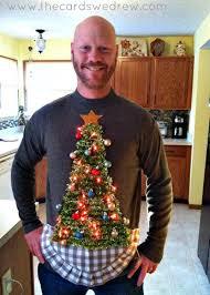 13 diy ugly christmas sweaters