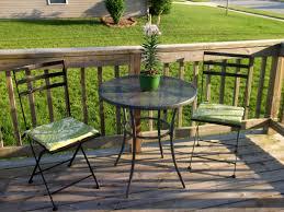 Diy Bistro Table Loving Life No Sew Seat Cushions