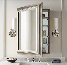 recessed bathroom mirror cabinet charming best 25 bathroom mirror cabinet ideas on pinterest