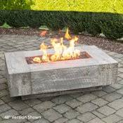 outdoor gas fire pit table fire pit tables woodlanddirect com outdoor fireplaces backyard