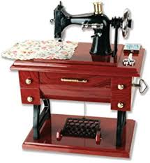 tin vintage style sewing machine quilting sew thread