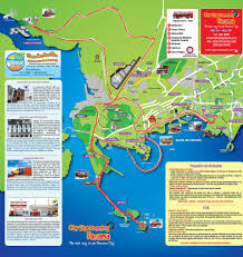 Panama World Map by City Sightseeing Panama Hop On Hop Off Bus Tour