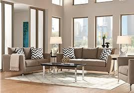 Rooms To Go Living Room Set Sofia Vergara Carinthia Mineral 7 Pc Living Room Living Room