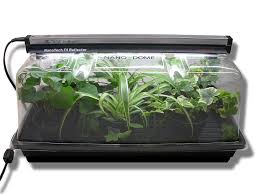 amazon com sunblaster nano dome propagation combo kit plant