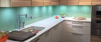 glass backsplash in kitchen back painted glass allstate glass countertops and backsplashes