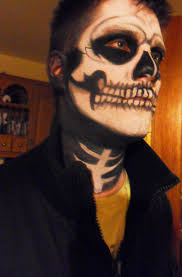 Skeleton Makeup For Halloween by Halloween Partyface Page 4