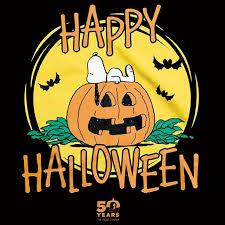 snoopy halloween shirt amazon com snoopy great pumpkin 50th anniversary t shirt happy