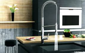 robinet cuisine avec douchette grohe robinetterie cuisine avec douchette mitigeur cuisine alto noir