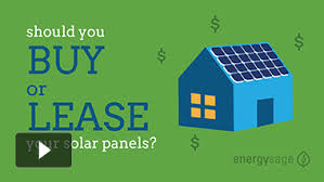 buy your own solar panels should you buy or lease your solar panel system energysage
