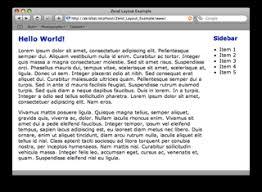 zend framework 2 override layout simple zend layout exle rob allen s devnotes