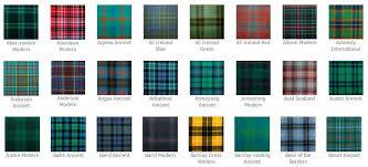 tartan pattern scottish made wool kilts 500 tartans available highland kilt company