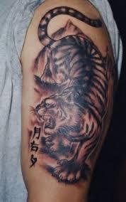 tiger tattoos designs on man u0027s wrist tiger tattoo pinterest