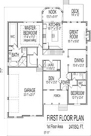 split plan house plans ranch floor plans