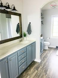 Allen And Roth Vanity Lights Farmhouse Style Fixer Upper Bathroom On A Budget Must Have Mom
