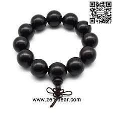 black prayer bracelet images Zen dear unisex natural ebony wood buddhist prayer bead necklace jpg