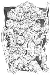 tmnt by angryrooster on deviantart lineart tmnt pinterest tmnt