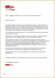 disposition cuisine lettre motivation apprentissage cuisine unique lettre de motivation