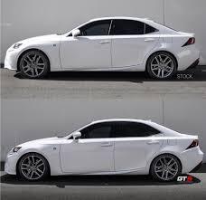 white lexus is 250 2017 ark u0027s performances gt s lowering springs clublexus lexus
