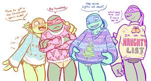 tmnt sweaters by midorieyes on deviantart